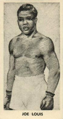 1938 F.C. Cartledge Boxing Joe Louis #30 Boxing & Other Card