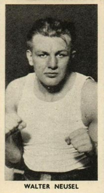 1938 F.C. Cartledge Boxing Walter Neusel #31 Boxing & Other Card