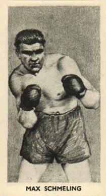 1938 F.C. Cartledge Boxing Max Schmeling #29 Boxing & Other Card