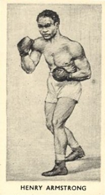 1938 F.C. Cartledge Boxing Henry Armstrong #28 Boxing & Other Card