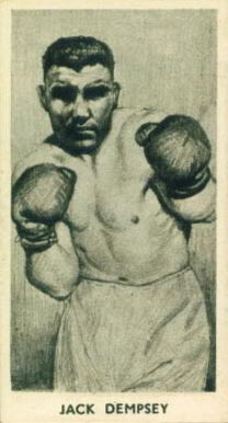 1938 F.C. Cartledge Boxing Jack Dempsey #26 Boxing & Other Card