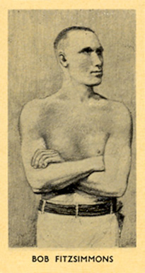 1938 F.C. Cartledge Boxing Bob Fitzsimmons #24 Boxing & Other Card