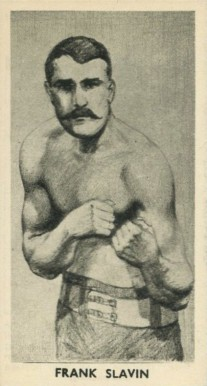 1938 F.C. Cartledge Boxing Frank Slavin #21 Boxing & Other Card