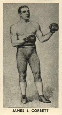 1938 F.C. Cartledge Boxing James Corbett #22 Boxing & Other Card