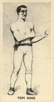 1938 F.C. Cartledge Boxing Tom King #17 Boxing & Other Card