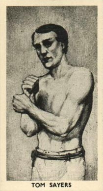 1938 F.C. Cartledge Boxing Tom Sayers #15 Boxing & Other Card