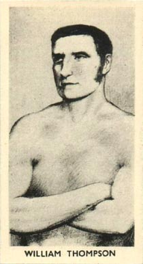 1938 F.C. Cartledge Boxing William Thompson #13 Boxing & Other Card