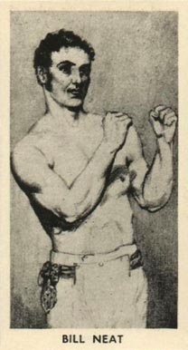1938 F.C. Cartledge Boxing Bill Neat #11 Boxing & Other Card