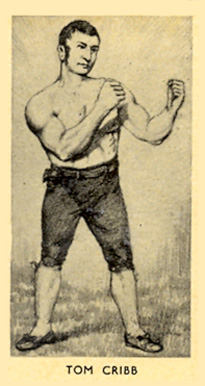 1938 F.C. Cartledge Boxing Tom Cribb #8 Boxing & Other Card