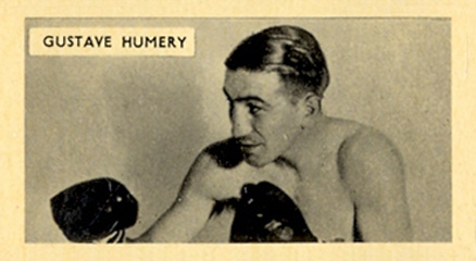 1938 F.C. Cartledge Boxing Gustave Humery #44 Boxing & Other Card