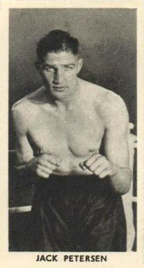 1938 F.C. Cartledge Boxing Jack Petersen #40 Boxing & Other Card