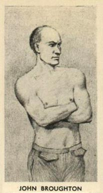 1938 F.C. Cartledge Boxing John Broughton #1 Boxing & Other Card