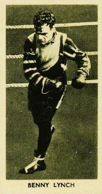 1938 F.C. Cartledge Boxing Glossy Benny Lynch #41 Boxing & Other Card
