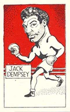 1947 D. Cummings & Sons Jack Dempsey #50 Boxing & Other Card