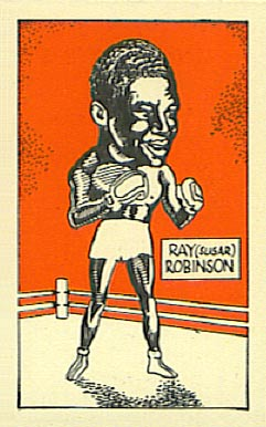 1947 D. Cummings & Sons Ray Robinson #30 Boxing & Other Card