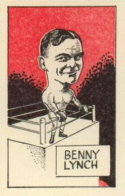 1947 D. Cummings & Sons Benny Lynch #19 Boxing & Other Card