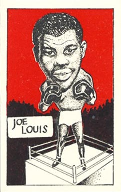 1947 D. Cummings & Sons Joe Louis #1 Boxing & Other Card