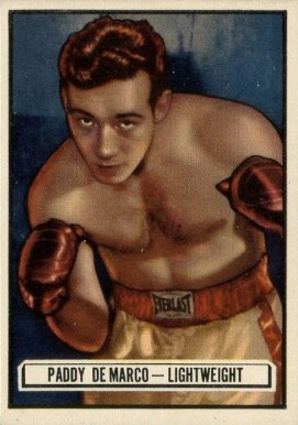 1951 Topps Ringside Boxing Paddy Demarco #94 Boxing & Other Card