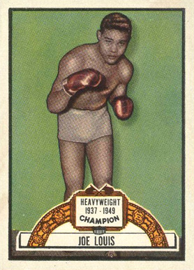 1951 Topps Ringside Boxing Joe Louis #88 Boxing & Other Card