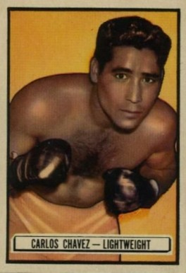1951 Topps Ringside Boxing Carlos Chavez #89 Boxing & Other Card