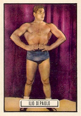 1951 Topps Ringside Boxing Ilio Dipaolo #77 Boxing & Other Card