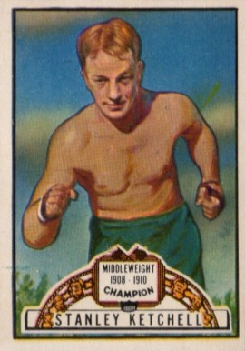 1951 Topps Ringside Boxing Stanley Ketchel #72 Boxing & Other Card