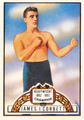 1951 Topps Ringside Boxing James Corbett #59 Boxing & Other Card