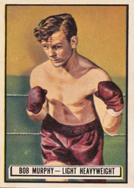 1951 Topps Ringside Boxing Bob Murphy #49 Boxing & Other Card