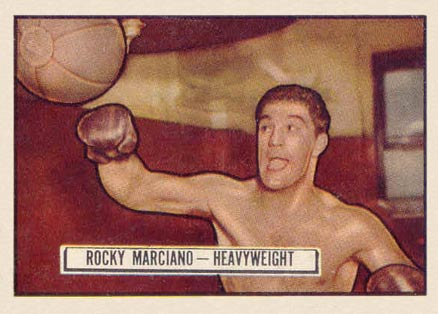 1951 Topps Ringside Boxing Rocky Marciano #32 Boxing & Other Card