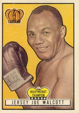 1951 Topps Ringside Boxing Joe Walcott #6 Boxing & Other Card