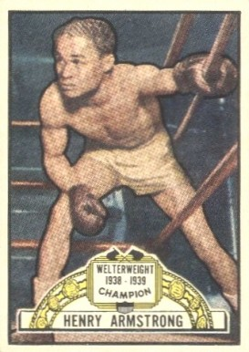 1951 Topps Ringside Boxing Henry Armstrong #2 Boxing & Other Card