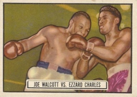 1951 Topps Ringside Boxing Joe Walcott #85 Boxing & Other Card