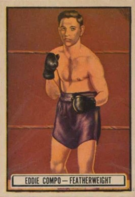 1951 Topps Ringside Boxing Eddie Compo #70 Boxing & Other Card