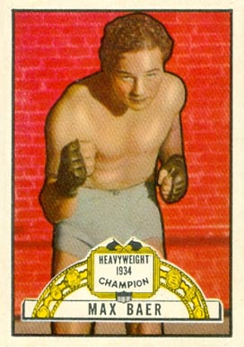 1951 Topps Ringside Boxing Max Baer #11 Boxing & Other Card
