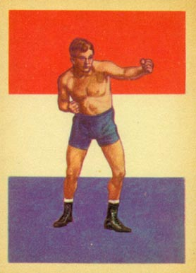 1956 Topps Adventure Marvin Hart-Interim Champ #80 Boxing & Other Card