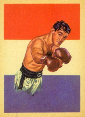 1956 Topps  Adventure Boxing Rocky Marciano #44 Boxing & Other Card