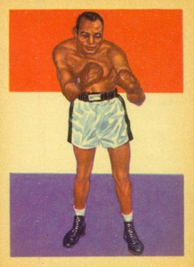 1956 Adventure Joe Walcott #43 Boxing & Other Card