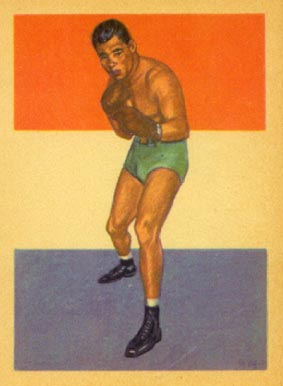 1956 Adventure Joe Louis #41 Boxing & Other Card