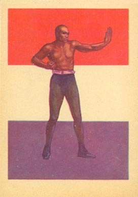 1956 Adventure Jack Johnson #32 Boxing & Other Card