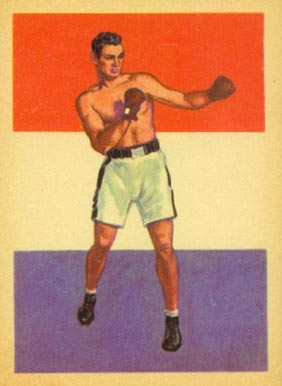 1956 Adventure Jack Dempsey #34 Boxing & Other Card