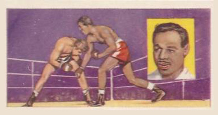 1959 Top Flight Stars Ray Robinson #11 Boxing & Other Card