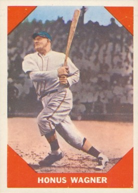 1960 Fleer Baseball Greats Honus Wagner #62 Baseball Card
