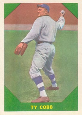 1960 Fleer Baseball Greats Ty Cobb #42 Baseball Card