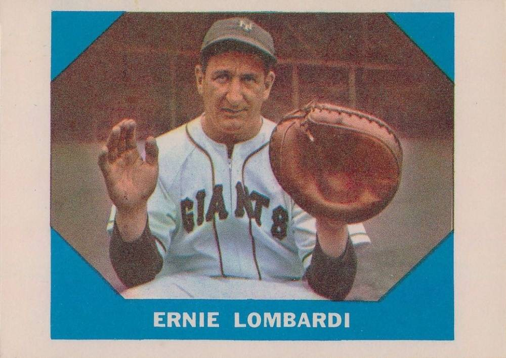 1960 Fleer Baseball Greats Ernie Lombardi #17 Baseball Card