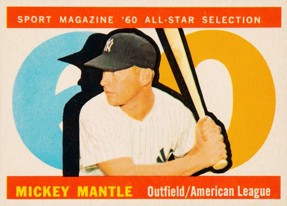 1960 Topps Mickey Mantle #563 Baseball Card