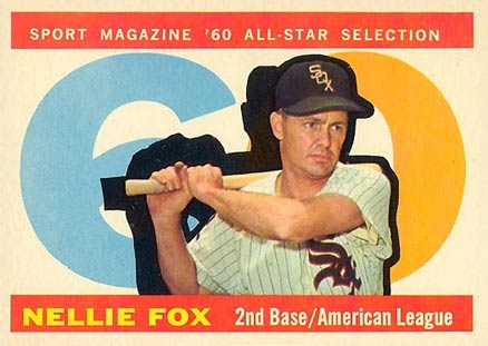1960 Topps Nellie Fox #555 Baseball Card