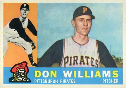 1960 Topps Don Williams #414 Baseball Card