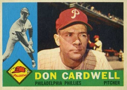 1960 Topps Don Cardwell #384 Baseball Card