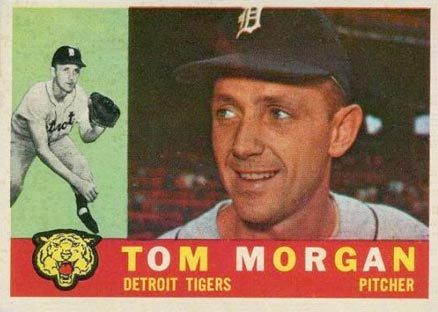 1960 Topps Tom Morgan #33 Baseball Card