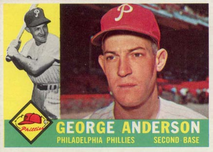 1960 Topps Sparky Anderson #34 Baseball Card